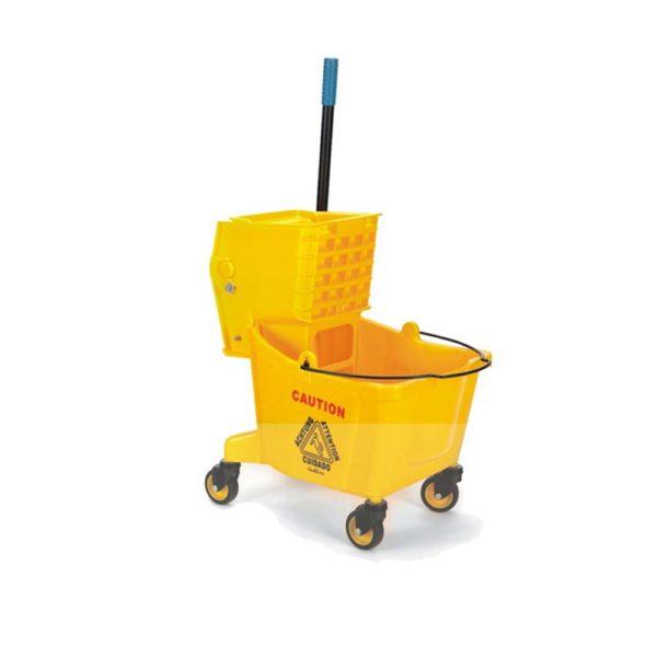 Single Mop Wringer Trolley
